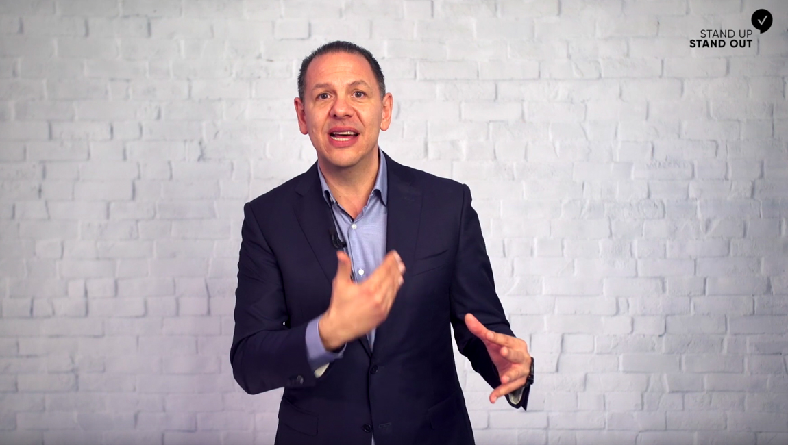 Michael Virardi - Golden rule of public speaking = No-one knows what you have forgotten
