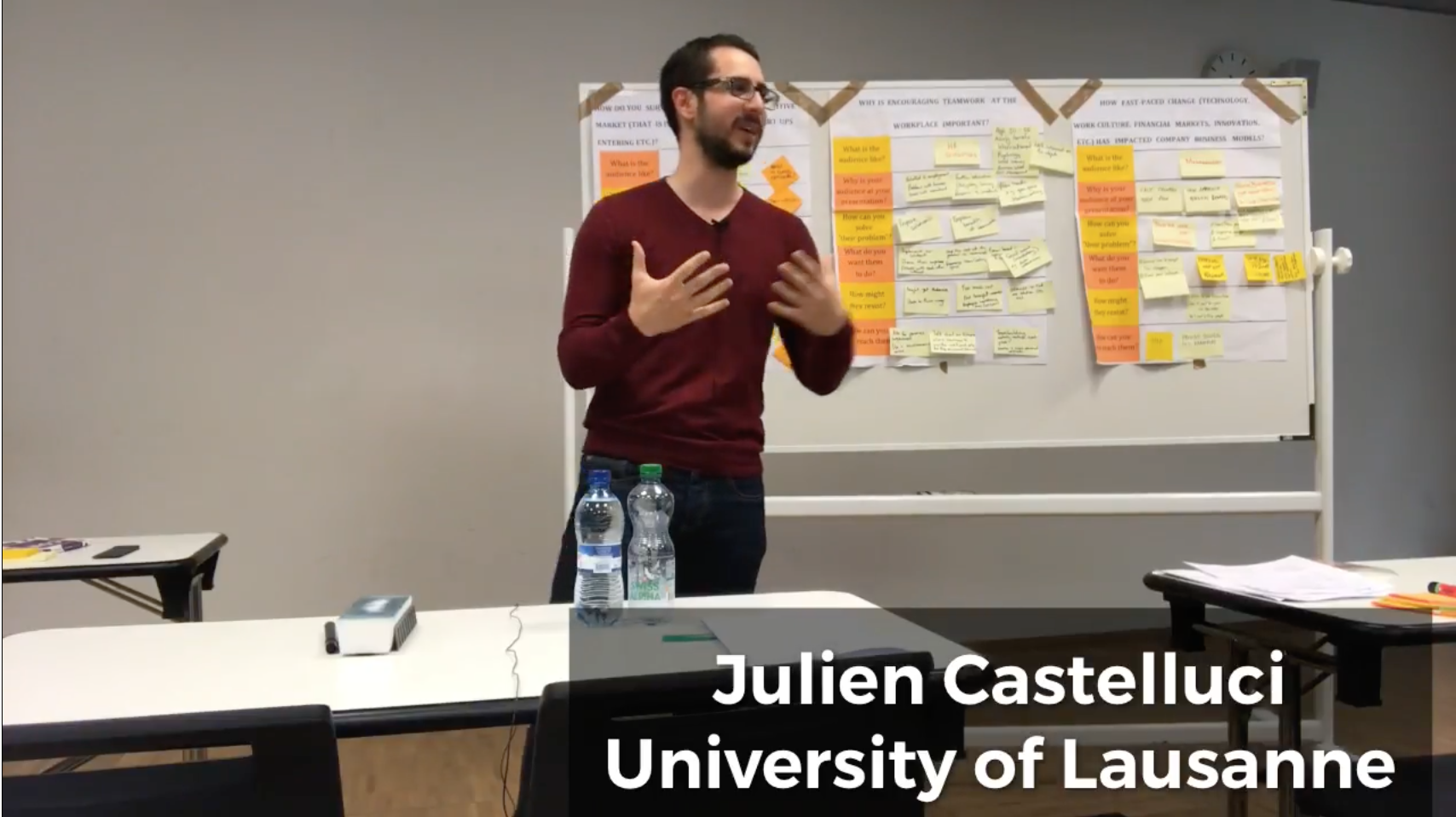 Michael Virardi - University of Lausanne | MASIT program | Julien Castelluci