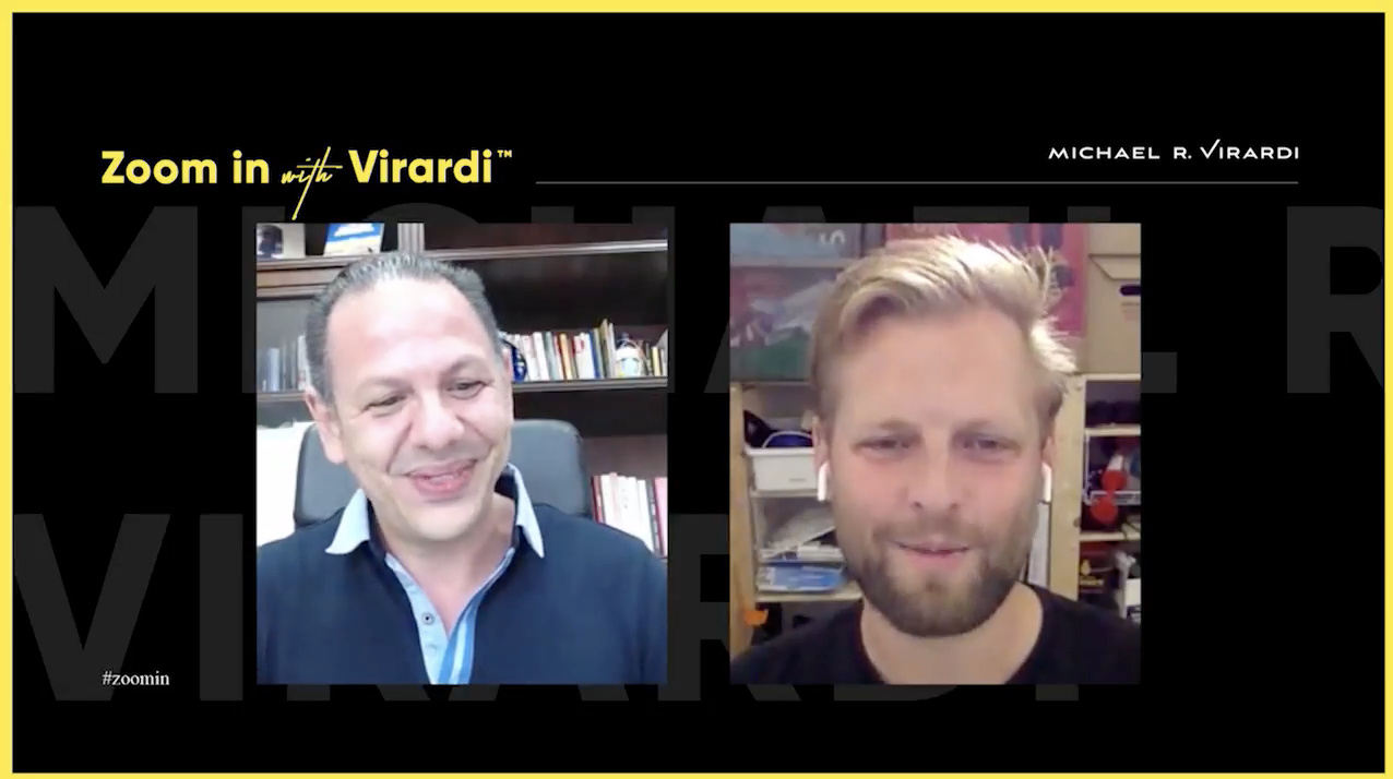 Michael Virardi - ZOOM IN with VIRARDI™ | Johnny Warström | Mentimeter | Episode 6