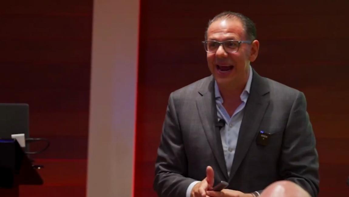 "Michael Virardi - Virardi in action. A 40-minute keynote on ""Soft Skills"""