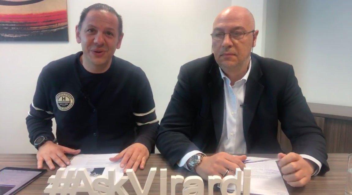 Michael Virardi - #AskVirardi – Episode 153, Giovanni Virardi